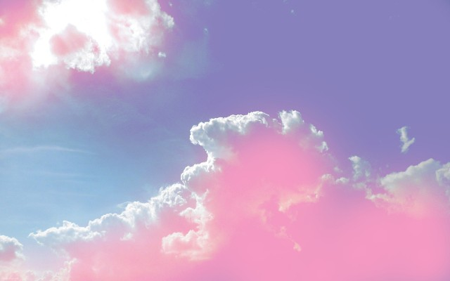 1637-pink-cloud-wallpaper